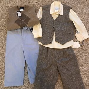 BNWT Lot of toddler boys size 3 designer clothes